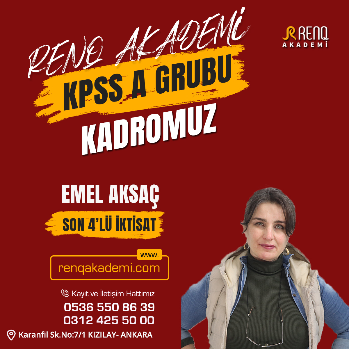Emel Aksaç - Kadro