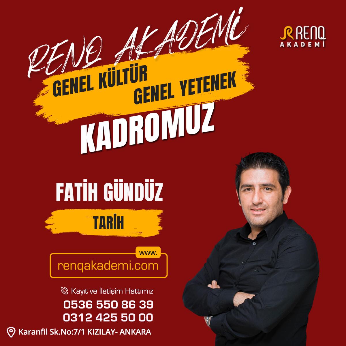 Fatih Gündüz - Kadro