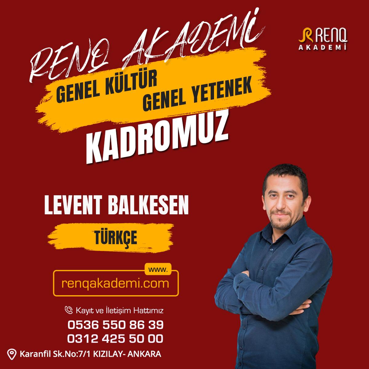 leven Balkesen - Kadro